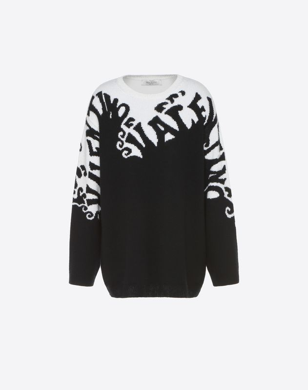 Valentino Waves Jumper