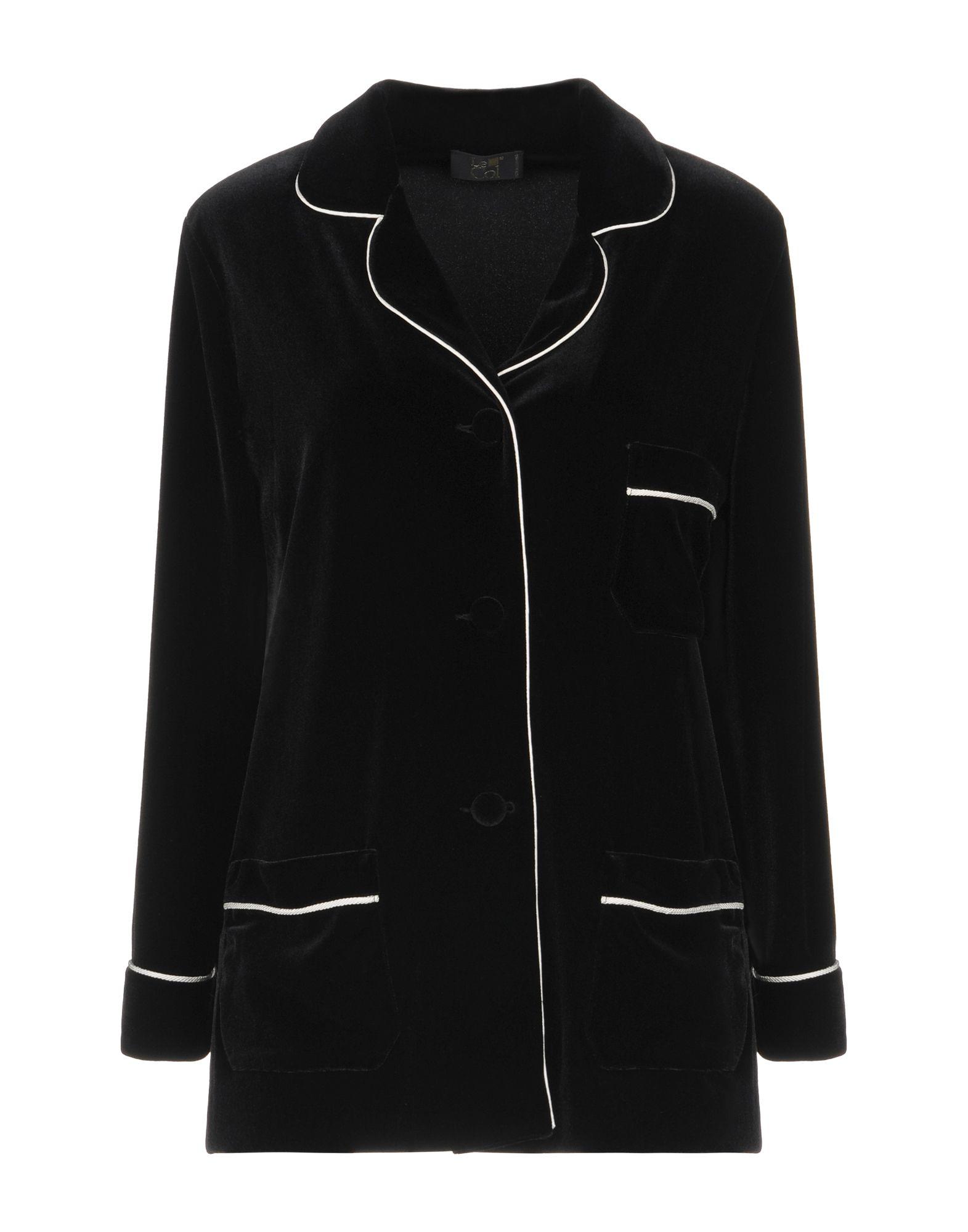 LE COL Blazer in Black
