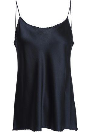 VINCE. Silk-satin crepe camisole