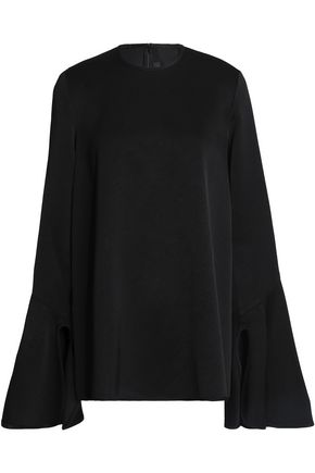 ELLERY Satin-crepe top