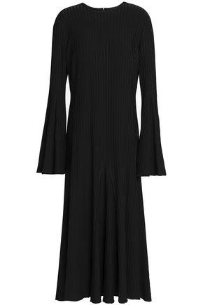 ELLERY Ribbed-knit midi dress