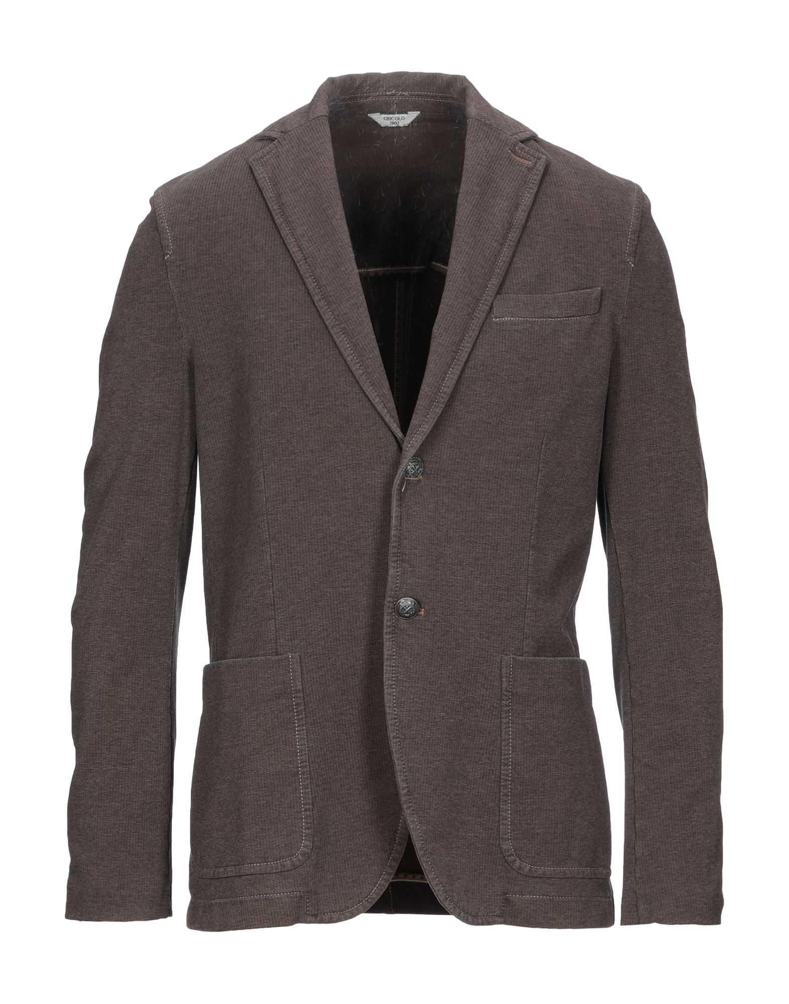 CIRCOLO Blazer in Dark Brown