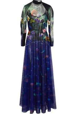 MARY KATRANTZOU + Disney printed tulle gown