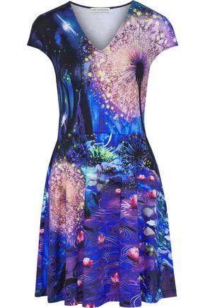 MARY KATRANTZOU Pinto printed stretch-jersey mini dress