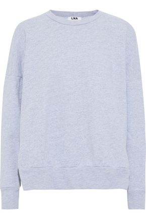 LNA Cotton-blend terry sweatshirt