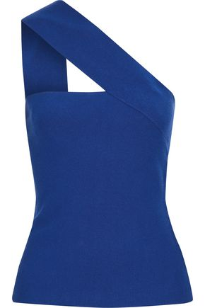BAILEY 44 Ceremonial one-shoulder Tencel-blend top