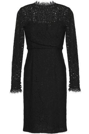 TEMPERLEY LONDON Coco cotton-blend corded lace dress