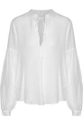 A.L.C. Silk crepe de chine blouse