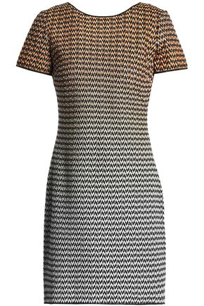 MISSONI Jacquard-knit mini dress