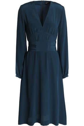 VANESSA SEWARD Gathered silk crepe de chine dress