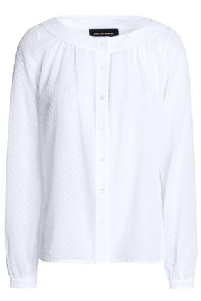 VANESSA SEWARD Swiss-dot cotton shirt