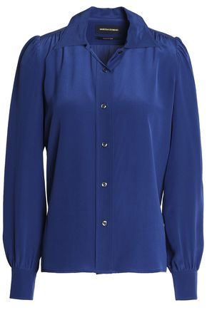VANESSA SEWARD Silk-satin shirt