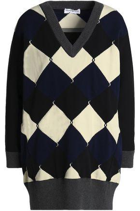 SONIA RYKIEL Oversized jacquard-knit sweater
