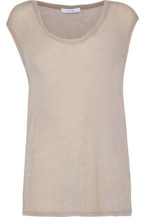 IRO Tencel-blend jersey top