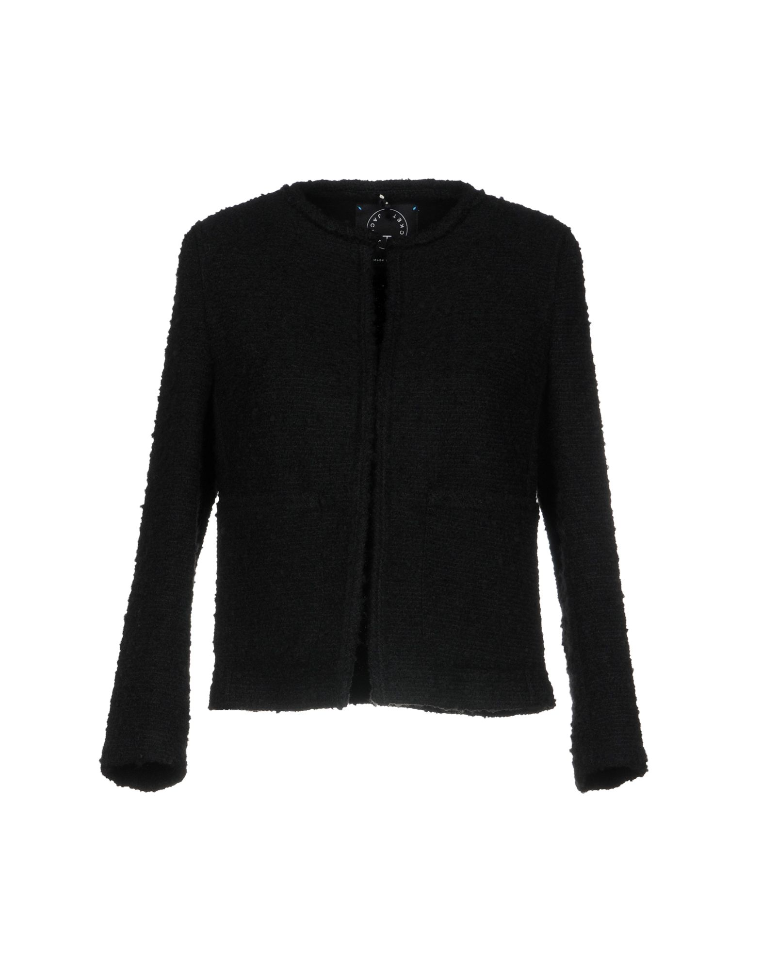 T-JACKET by TONELLO Пиджак fleece lined jacket with epaulet