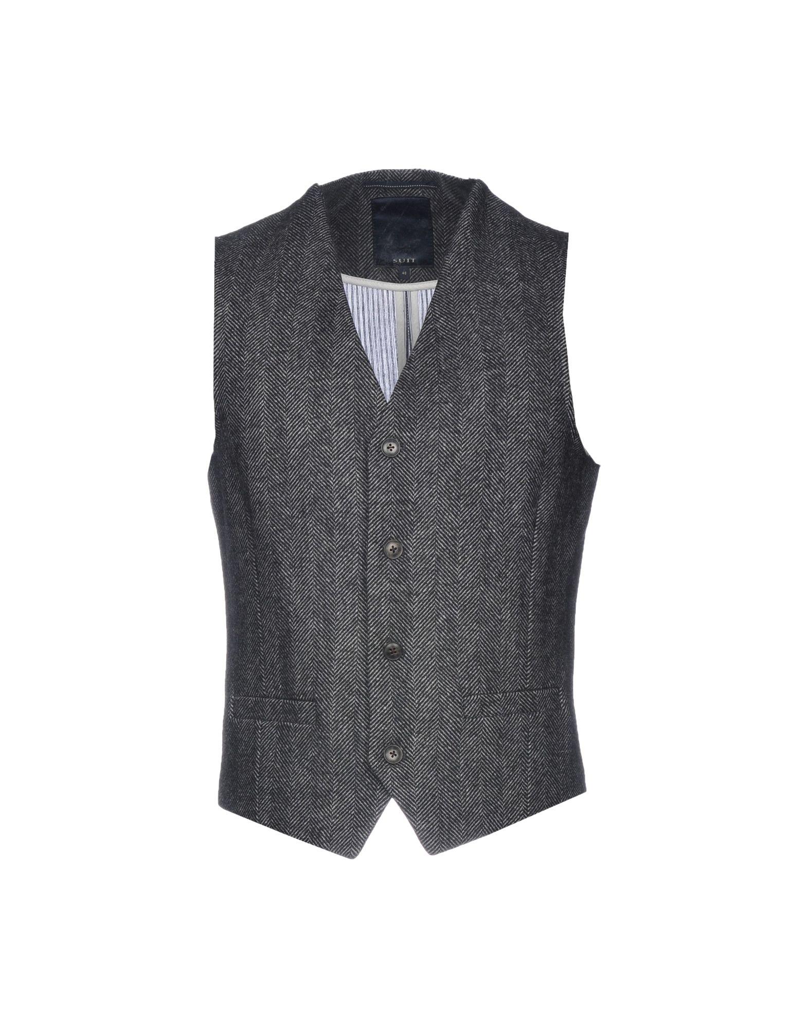 SUIT Suit Vest in Steel Grey