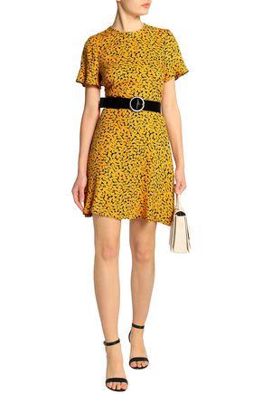 MICHAEL MICHAEL KORS Printed silk crepe de chine mini dress