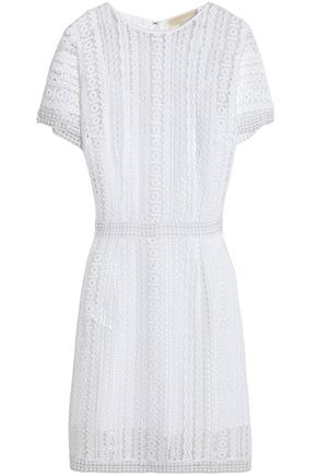 MICHAEL MICHAEL KORS Crocheted cotton-lace dress