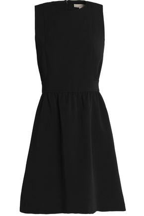 MICHAEL MICHAEL KORS Pleated crepe mini dress