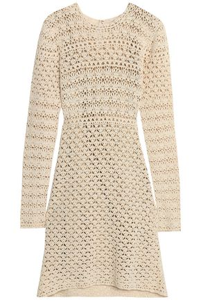 MICHAEL MICHAEL KORS Crocheted cotton dress