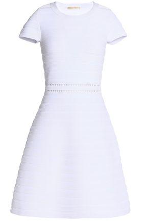 MICHAEL MICHAEL KORS Ribbed crepe mini dress