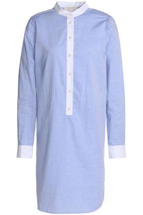 MICHAEL MICHAEL KORS Cotton-poplin mini shirt dress