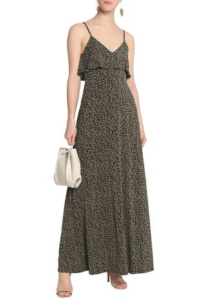 da6a700c1c1b MICHAEL MICHAEL KORS Ruffled printed stretch-jersey maxi dress