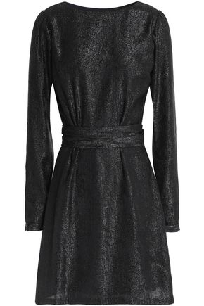 MICHAEL MICHAEL KORS Metallic crepe mini dress