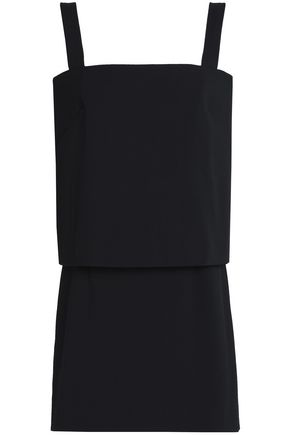 MILLY Layered cady mini dress