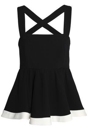 MILLY Riley cady peplum top