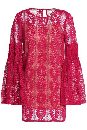 MICHAEL MICHAEL KORS Flared corded lace blouse