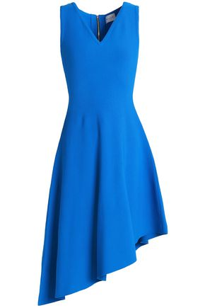 MILLY Asymmetric ponte dress