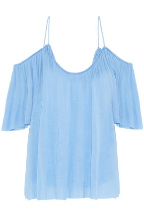 BAILEY 44 Flight Phase cold-shoulder modal-jersey top