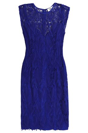 DIANE VON FURSTENBERG Guipure lace mini dress
