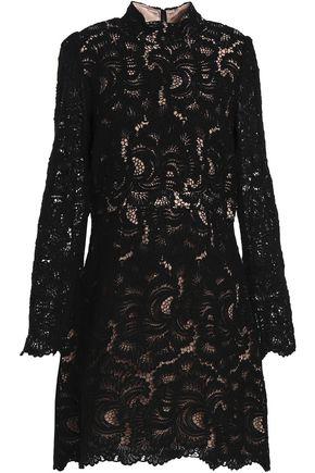 A.L.C. Cotton guipure lace mini dress
