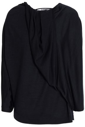 CHALAYAN Gathered wool top