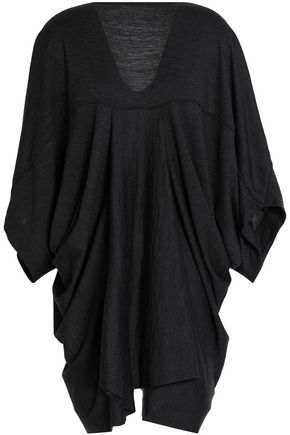 CHALAYAN Draped wool-jersey top