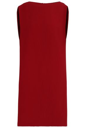 CHALAYAN Cape-back satin-crepe dress