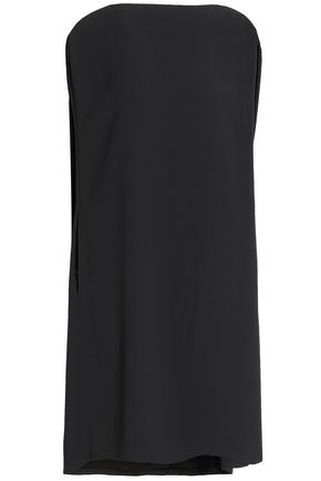 CHALAYAN Cape-back crepe dress