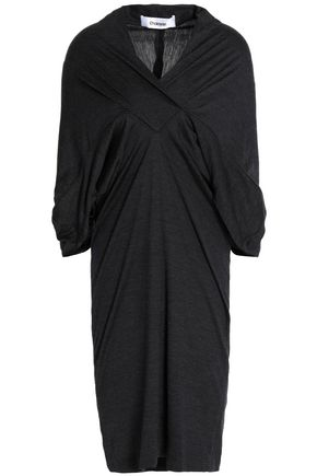 CHALAYAN Ruched wool-jersey dress