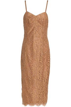 MICHAEL KORS COLLECTION Cotton-blend corded lace dress