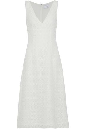 J.MENDEL Corded lace midi dress