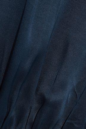 CAMI NYC Allison wrap-effect silk-charmeuse bodysuit