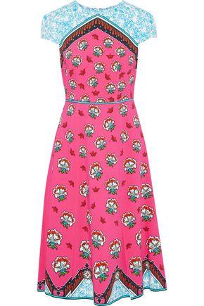 MARY KATRANTZOU Osmond printed cady dress