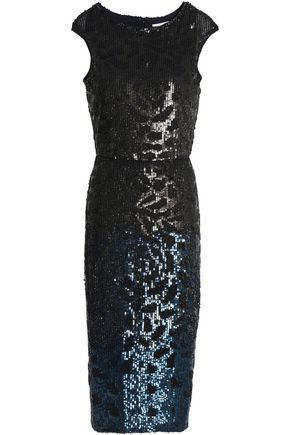 RACHEL GILBERT Sequined tulle dress
