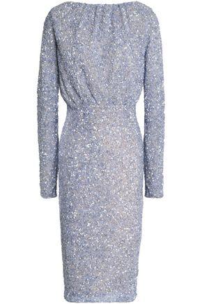 RACHEL GILBERT Embellished tulle dress