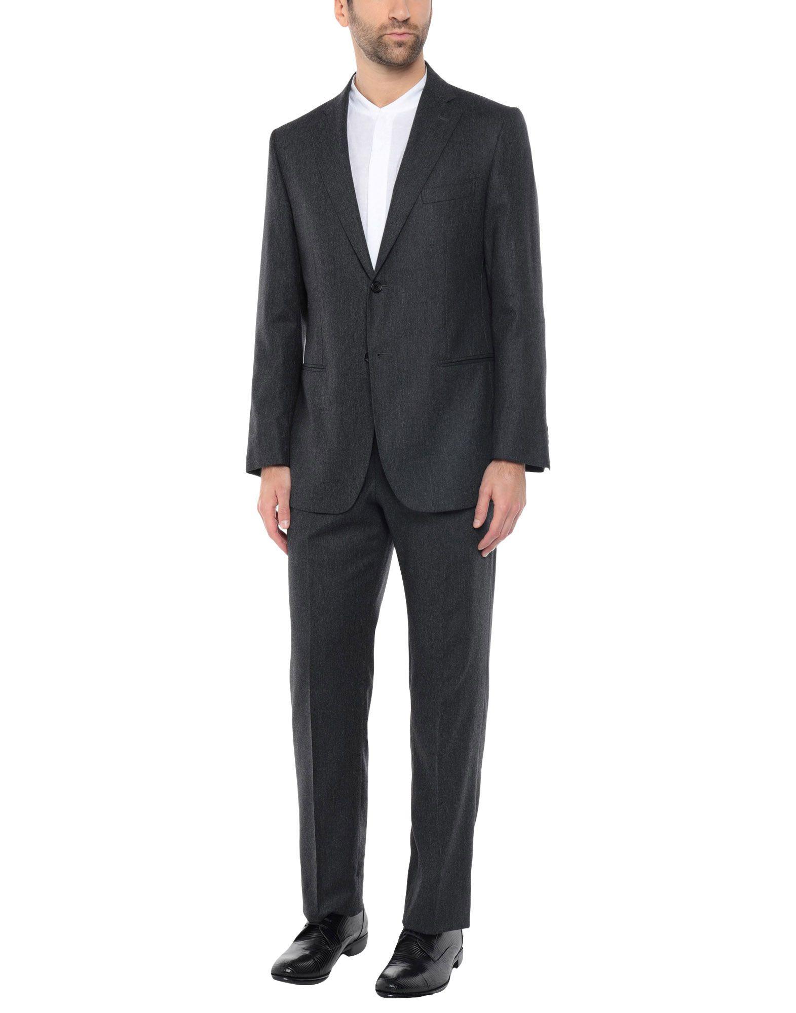 《送料無料》RIVIERA Milano メンズ スーツ 鉛色 44 スーパー150 ウール 100%