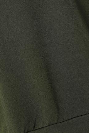 BAILEY 44 Cold-shoulder stretch-modal jersey mini dress
