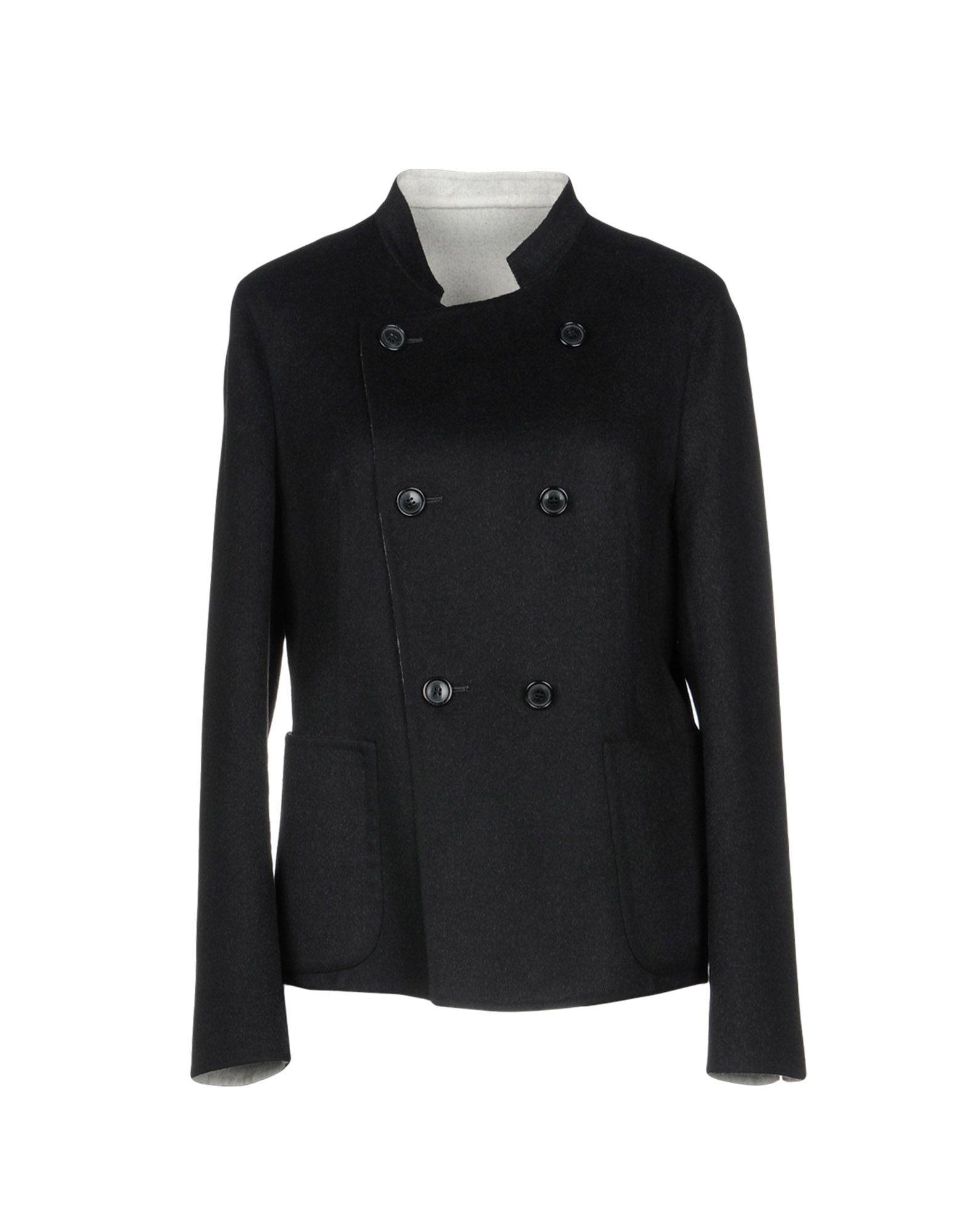 《セール開催中》AKRIS レディース テーラードジャケット ブラック 40 ウール 100%