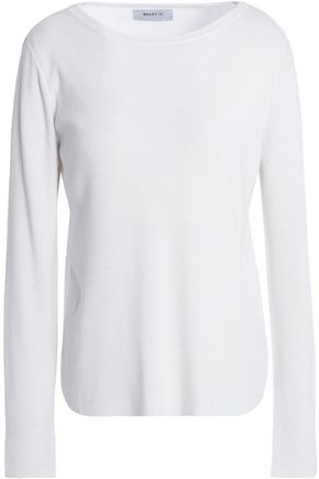 BAILEY 44 Layered cutout stretch-knit top